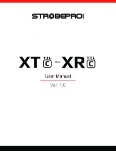 and User Manual Ver. 1.0