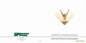 andard Process Purification Program Standard Process Purification Progra Standard Process Purification Program Standard Process Purification Program