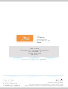 Andes ISSN: Universidad Nacional de Salta Argentina