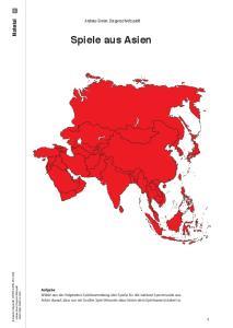 Andreas Simon: Die ganze Welt spielt! Spiele aus Asien