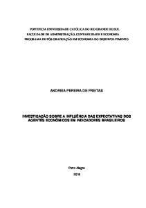 ANDREIA PEREIRA DE FREITAS