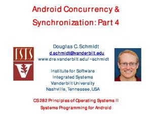 Android Concurrency & Synchronization: Part 4