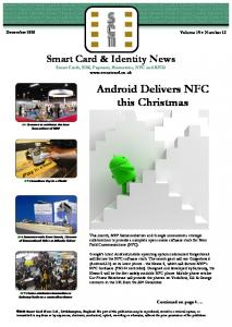 Android Delivers NFC this Christmas