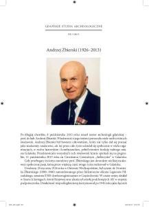 Andrzej Zbierski ( )