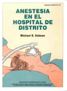 ANESTESIA EN EL HOSPITAL DE DISTRITO