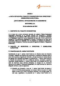 ANEXO 1 > JUNTA GENERAL EXTRAORDINARIA DE ACCIONISTAS