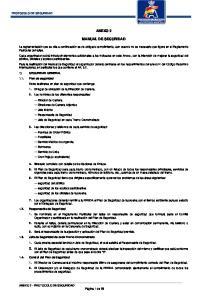 ANEXO 2 MANUAL DE SEGURIDAD