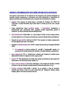 ANEXO 3. INFORMACION QUE DEBE ESTAR EN EL BOTIQUIN