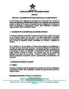 ANEXO 6 ESTUDIO Y DOCUMENTOS PREVIOS CONTRATO DE COMPRAVENTA