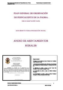 ANEXO DE ASENTAMIENTOS RURALES