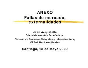ANEXO Fallas de mercado, externalidades