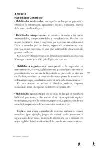 ANEXO I Habilidades Generales 1
