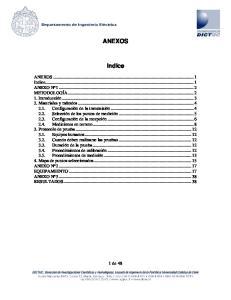 ANEXOS. Indice. 1 de 48