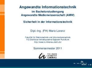 Angewandte Informationstechnik