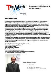 Angewandte Mathematik mit Promotion