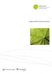 Angewandte Systemanalyse
