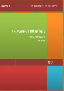 ANIMACIONES INFANTILES