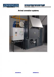Animal cremation systems