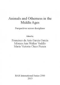 Animals and Otherness in the Middle Ages
