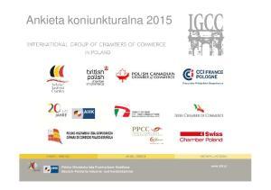 Ankieta koniunkturalna 2015
