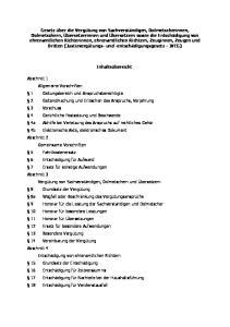 Anlage 1 (zu 9 Abs. 1) Anlage 2 (zu 10 Abs. 1) Anlage 3 (zu 23 Abs. 1)