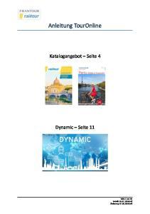 Anleitung TourOnline
