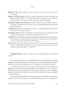 Annabelle Mooney Language and Law. London: Palgrave Macmillan, pp. 224