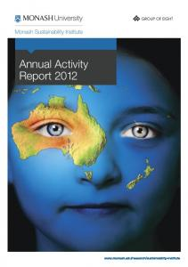 Annual Activity Report 2012