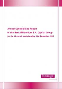 Annual Consolidated Report of the Bank Millennium S.A. Capital Group