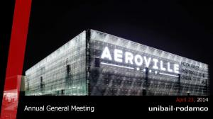 Annual General Meeting. April 23, 2014