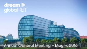 Annual General Meeting May 4, 2016