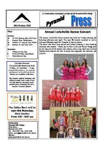 Annual Leitchville Dance Concert