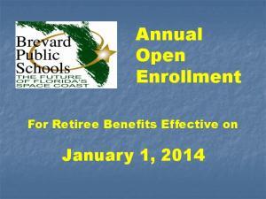 Annual Open Enrollment
