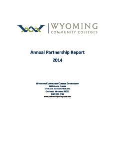 Annual Partnership Report 2014