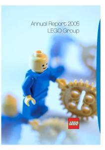 Annual Report 2005 LEGO Group