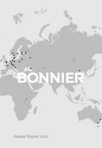 Annual Report 2012 bonnier ab annual report