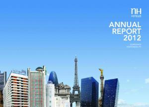 ANNUAL REPORT 2012 CORPORATE RESPONSIBILITY