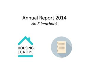 Annual Report 2014 An E-Yearbook
