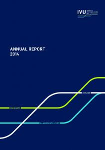 ANNUAL REPORT 2014 OUTLOOK HIGHLIGHTS MANAGEMENT REPORT