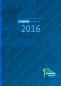 Annual Report 2016 XYZ