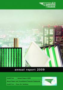 Annual Report and Consolidated Financial Statements