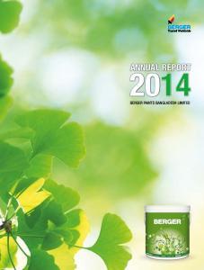 ANNUAL REPORT. annual report 2014