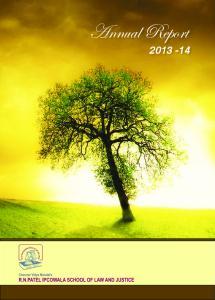 Annual Report ANNUAL REPORT