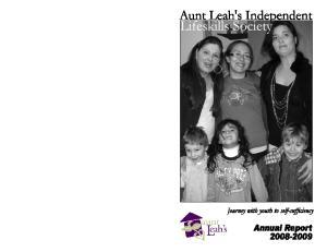 Annual Report April 1, March 31, 2009