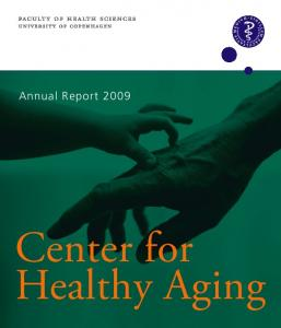 Annual Report Center for Healthy Aging