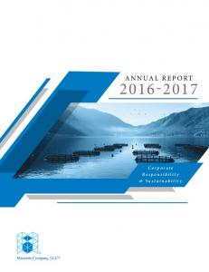ANNUAL REPORT Corporate Responsibility & Sustainability