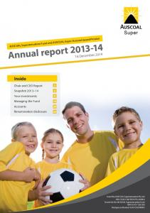 Annual report December 2014