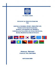 Annual Report Financial Year