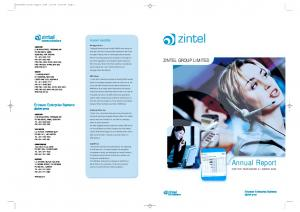 Annual Report FOR THE YEAR ENDED 31 MARCH 2004