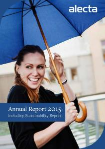 Annual Report including Sustainability Report